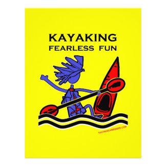 Kayaking Fearless Fun Flyer