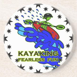 Kayaking Fearless Fun Gifts Coaster