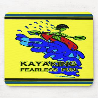Kayaking Fearless Fun Gifts Mousepad