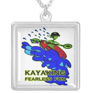 Kayaking Fearless Fun Gifts Custom Jewelry