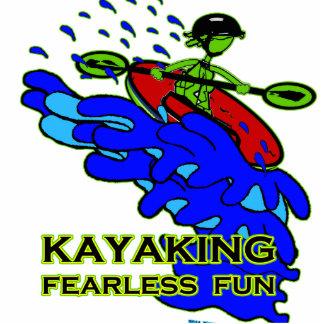 Kayaking Fearless Fun Gifts Photo Statuette