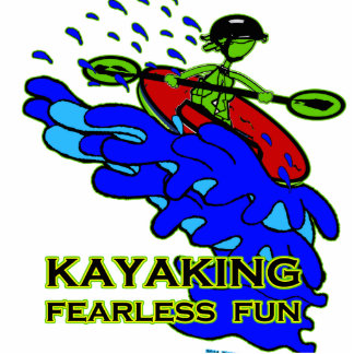 Kayaking Fearless Fun Gifts Statuette