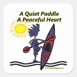 Kayaking Fearless Fun Gifts Sticker
