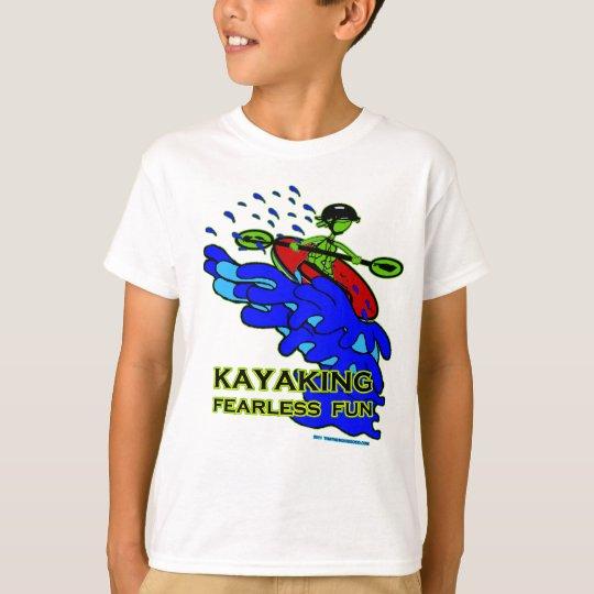 Kayaking Fearless Fun Gifts T-Shirt
