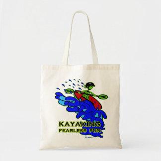 Kayaking Fearless Fun Gifts Tote Bag
