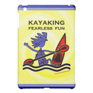 Kayaking Fearless Fun iPad Mini Case