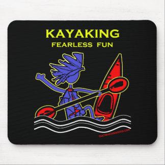 Kayaking Fearless Fun Mouse Pads