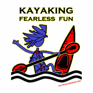 Kayaking Fearless Fun Statuette