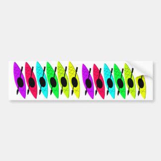 Kayaking Gifts for Kayak Lovers Car Bumper Sticker