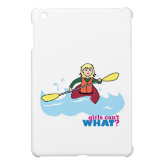 Kayaking Girl - Light/Blonde iPad Mini Case