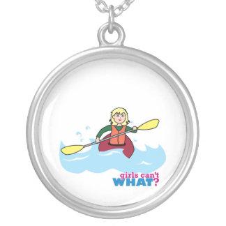 Kayaking Girl - Light/Blonde Pendants