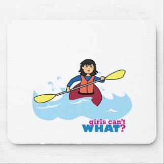 Kayaking Girl - Medium Mouse Pad