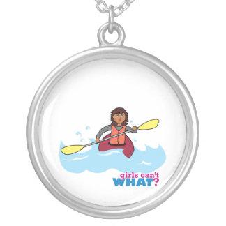 Kayaking Girl Pendant