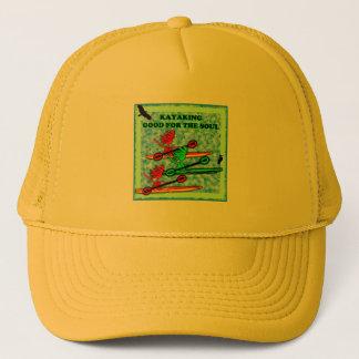 Kayaking Good For The Soul Trucker Hat