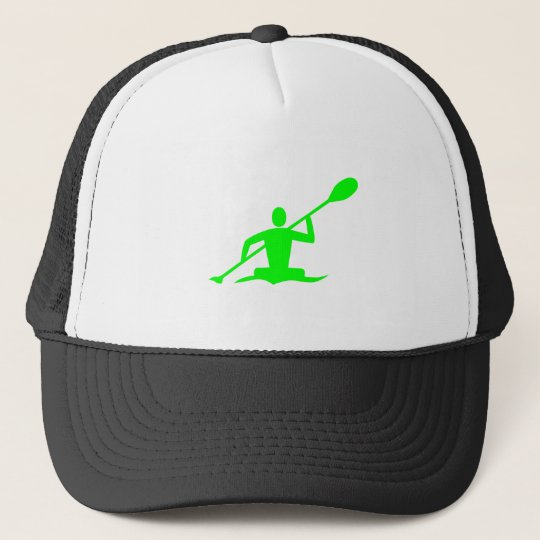 Kayaking - Green Trucker Hat