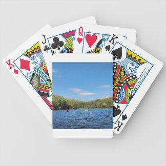 Kayaking Hidden Valley Lake Bicycle Playing Cards