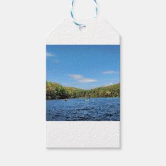 Kayaking Hidden Valley Lake Gift Tags