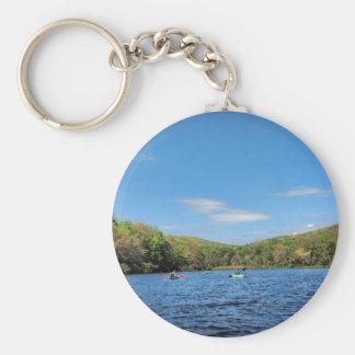 Kayaking Hidden Valley Lake Keychain