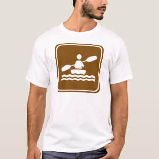 Kayaking Highway Sign T-Shirt