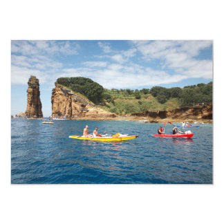 Kayaking in Azores Card