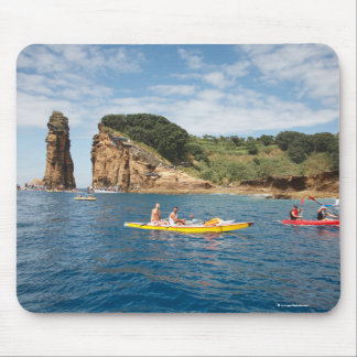 Kayaking in Azores Mouse Pad