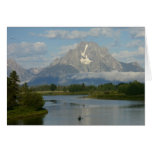 Kayaking in Grand Teton National Park Card