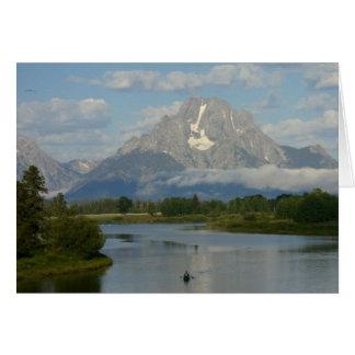 Kayaking in Grand Teton National Park Card
