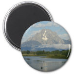 Kayaking in Grand Teton National Park Magnet
