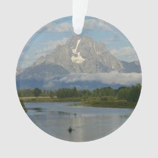 Kayaking in Grand Teton National Park Ornament