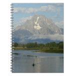 Kayaking in Grand Teton National Park Spiral Notebook