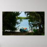 Kayaking in St Thomas Print