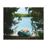 Kayaking in St. Thomas US Virgin Islands Canvas Print