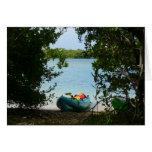 Kayaking in St. Thomas US Virgin Islands Card