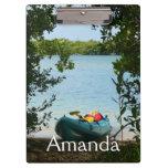 Kayaking in St. Thomas US Virgin Islands Clipboard