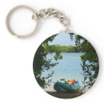 Kayaking in St. Thomas US Virgin Islands Keychain
