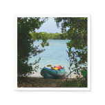 Kayaking in St. Thomas US Virgin Islands Napkin