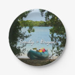 Kayaking in St. Thomas US Virgin Islands Paper Plate