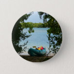 Kayaking in St. Thomas US Virgin Islands Pinback Button