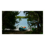 Kayaking in St. Thomas US Virgin Islands Poster