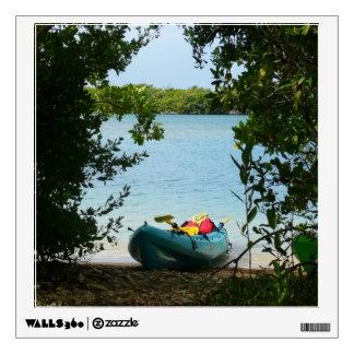 Kayaking in St. Thomas US Virgin Islands Wall Stickers