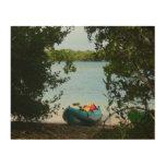 Kayaking in St. Thomas US Virgin Islands Wood Wall Decor
