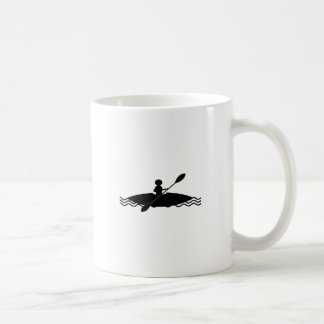 Kayaking - Kayak Stick Man Coffee Mug