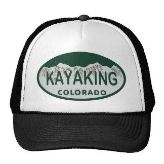 Kayaking license oval hat