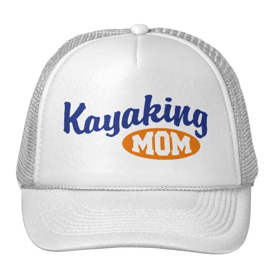 Kayaking Mom Trucker Hat