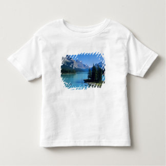 Kayaking on Maligne Lake at Spirit Island Toddler T-shirt