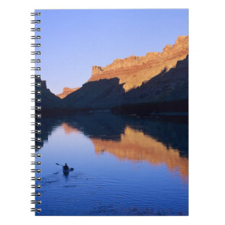 Kayaking on the Colorado River in Spanish Notebook