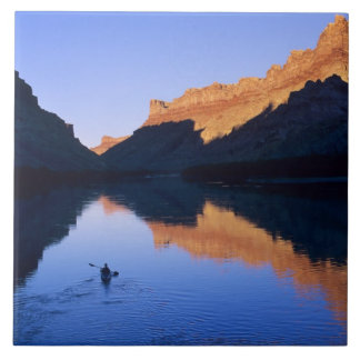 Kayaking on the Colorado River in Spanish Tile