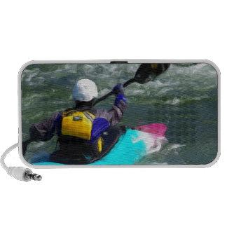 Kayaking On The River Mini Speaker