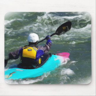 Kayaking On The River Mouse Pad