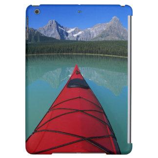 Kayaking on Waterfowl Lake below Howse Peak Case For iPad Air